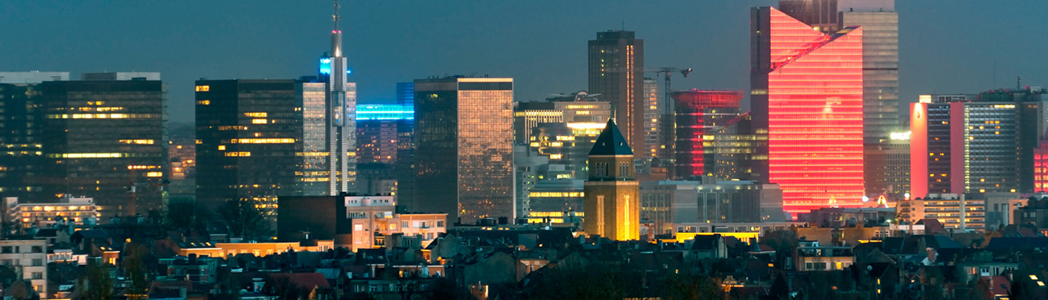 Coatings in België - Brussel skyline