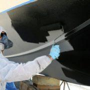Antifouling coating aanbrengen
