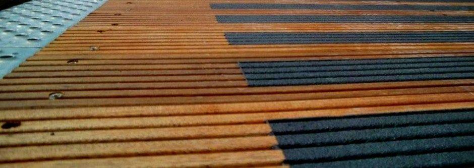 antislip coating hout