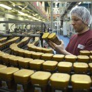 voedselfabrieken met antibacteriële coating