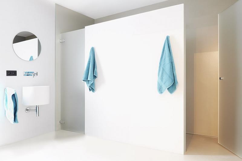 muurcoating belgië » badkamer, keuken of buiten   coatings belgië, Badkamer