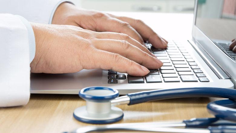 Laptop met antibacteriële coating