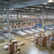 Vloercoating-pakketten-distributie-center