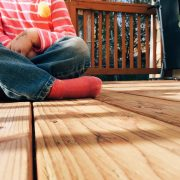 transparante antislip coating voor houten vlonders