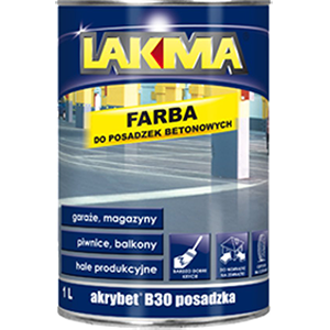 Lakma Vloer- en betonverf grijs 4 liter