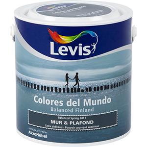 Levis Colores del Mundo Muur & Plafond Mat Balanced Spring 2,5 liter