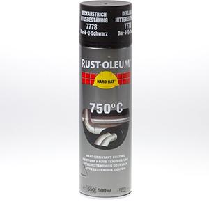 Rust-Oleum hittebestendige lak Zwart 500ml